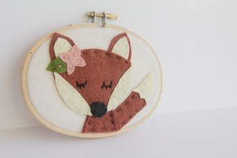Meditating Fox Wall Art