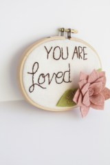 You Are Loved Inspirational Wall Art