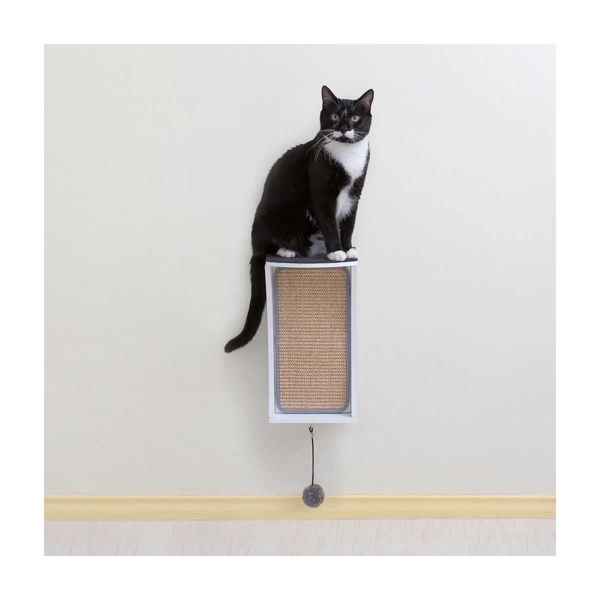 Modern Cat Shelves Modern Cat Wall System 3 Piece Combo Kit Catsplay Superstore