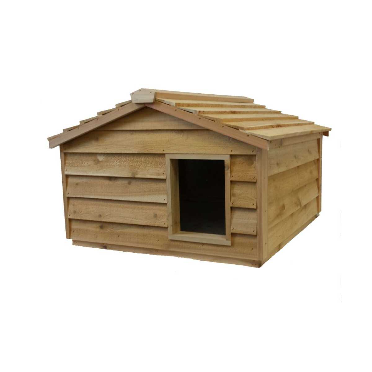 Dog House Extra Large Cedar Insulated Cat Or Small Dog House