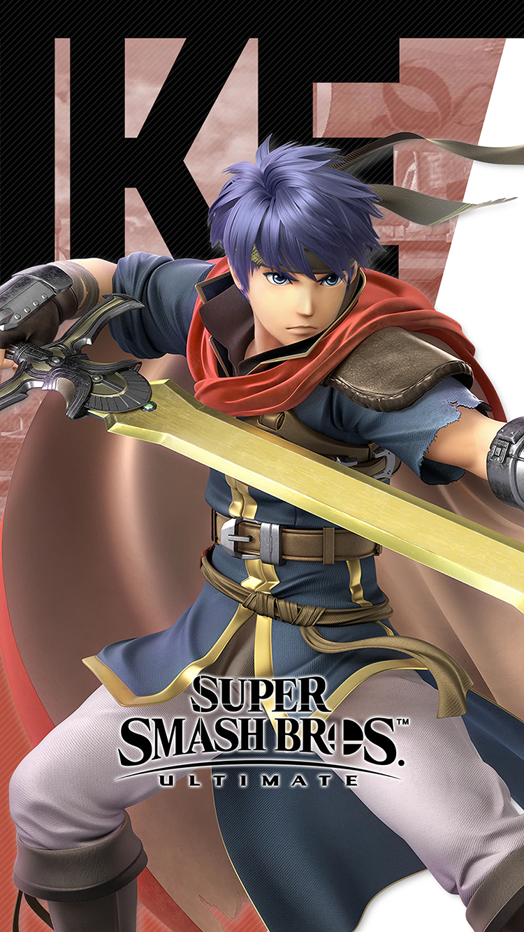 Iphone 7 Animated Wallpaper Super Smash Bros Ultimate Ike Wallpapers Cat With Monocle