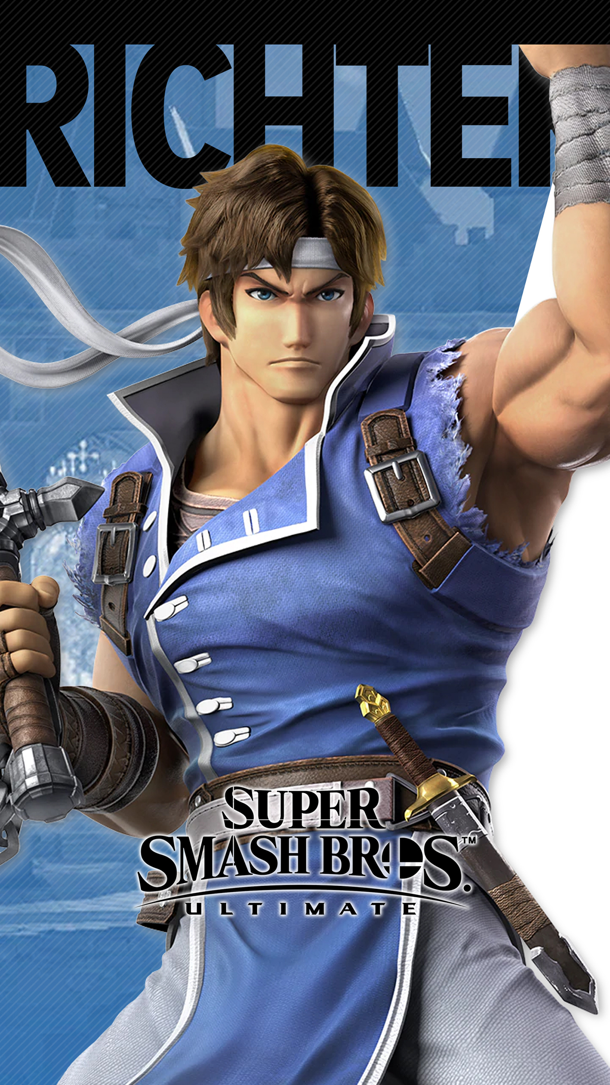 Galaxy S8 Animated Wallpaper Super Smash Bros Ultimate Richter Wallpapers Cat With