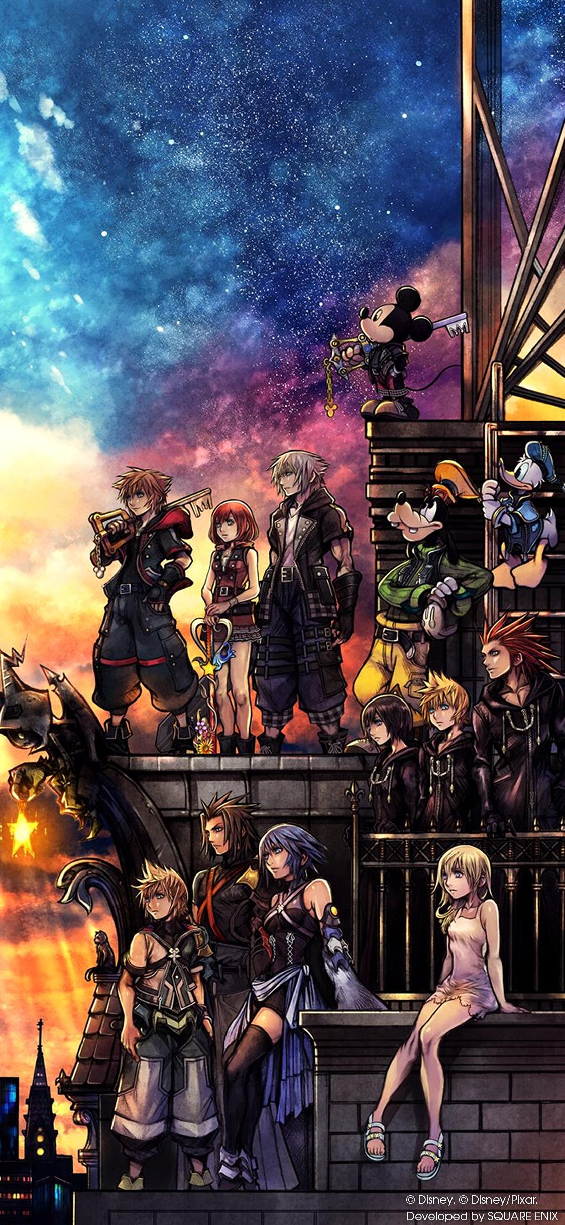 Wallpapers Hd Iphone X Kingdom Hearts Iii Wallpaper Cover Art Wallpaper Cat