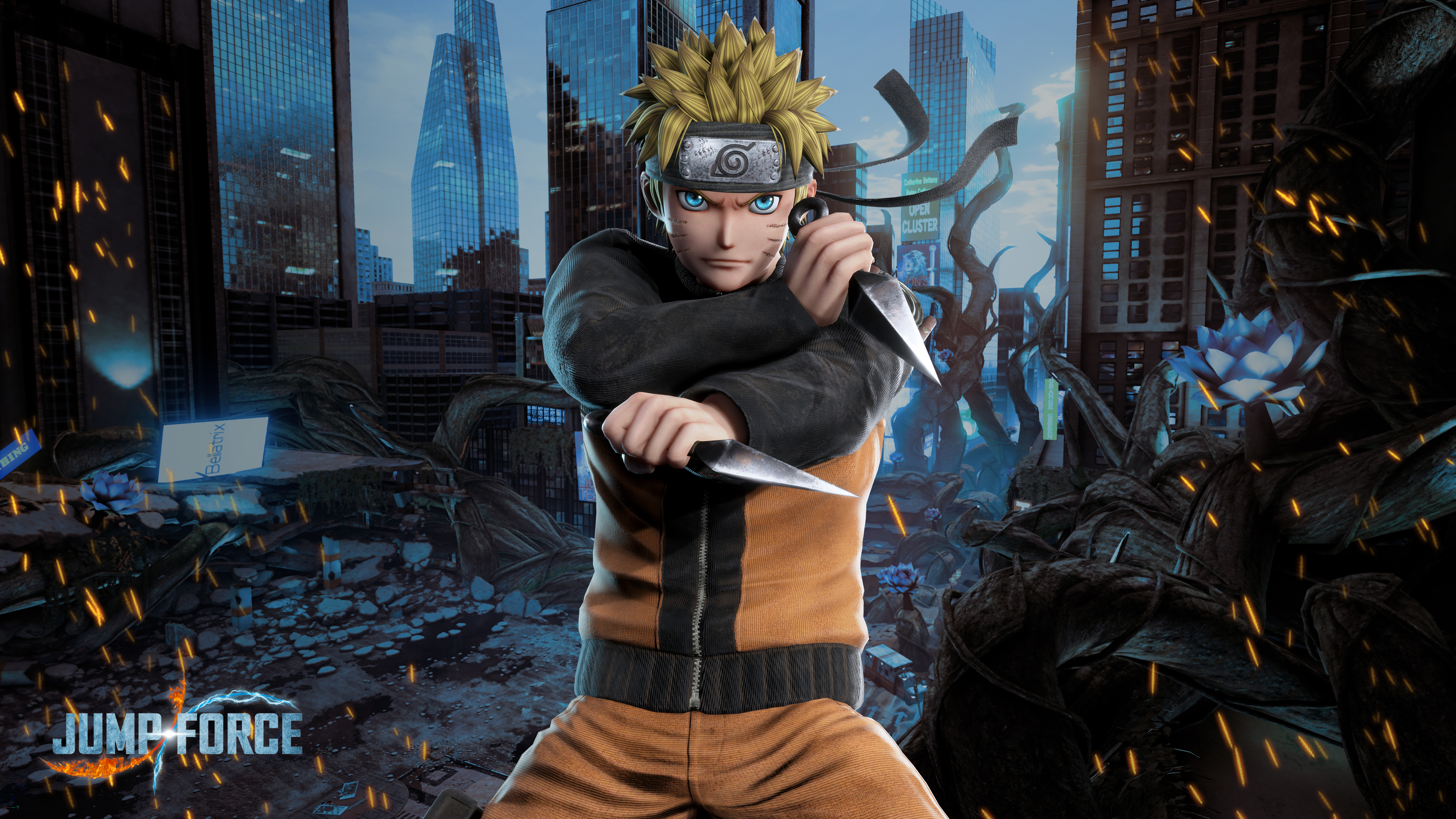 Naruto Iphone 7 Wallpaper Jump Force Naruto Wallpapers Cat With Monocle