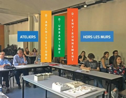 Saint-Pierreville: futurs architectes en immersion<br><p class=