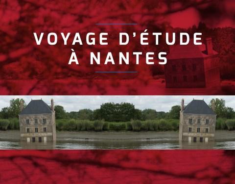 Cadre de vie: voyage à Nantes<br><p class=