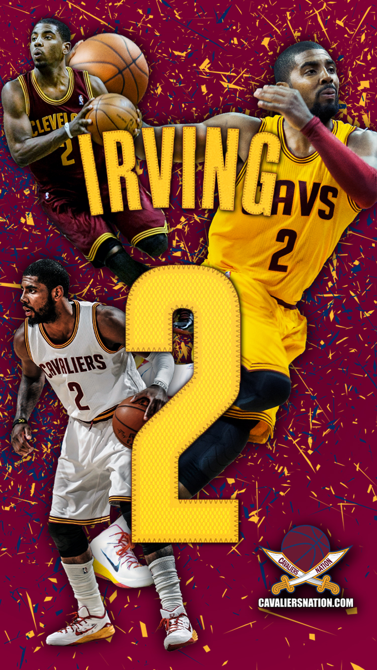 Duke University Iphone Wallpaper Kyrie Irving Quot Abstract Quot Wallpaper Cavaliers Nation