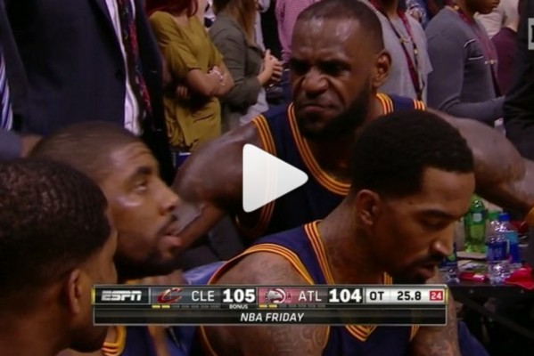 Lebron James Animated Wallpaper Video Lebron James Grills Kyrie Irving During Timeout