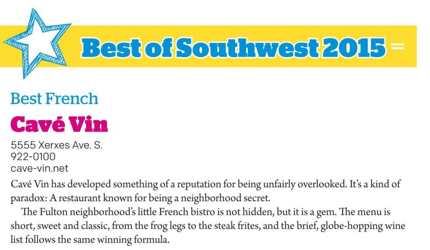 Southwest Journal issue featuring the best of Southwest