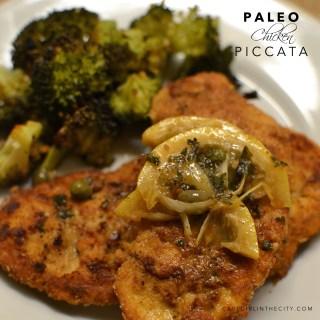 Paleo Chicken Piccata