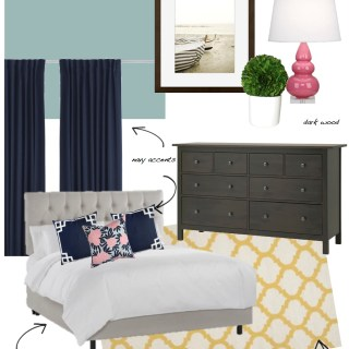 Inspiration Board: The Bedroom