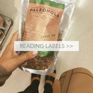 Paleo Pointer: Read Your Labels