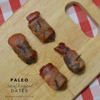 Paleo Bacon Wrapped Dates