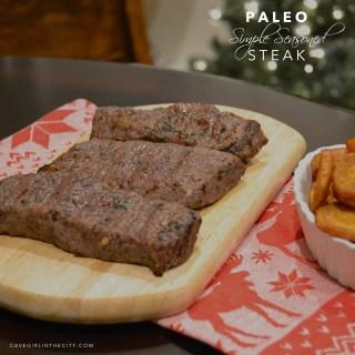 Paleo Simple Seasoned Steak