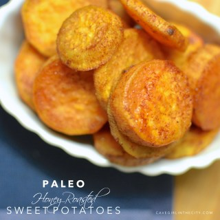 Paleo Honey Roasted Sweet Potatoes
