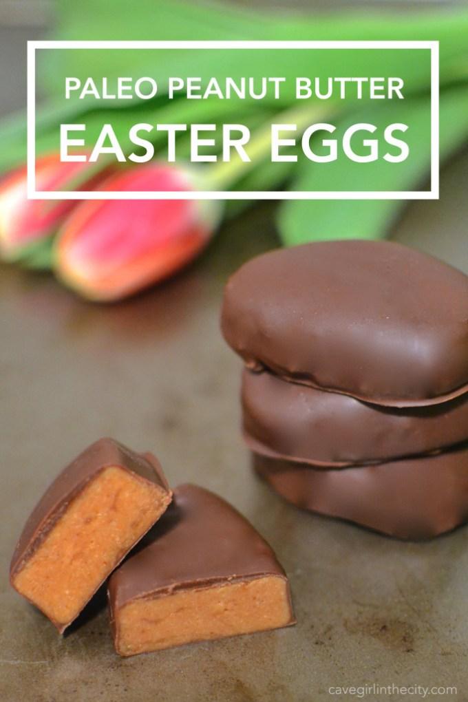 Peant Butter Easter Eggs
