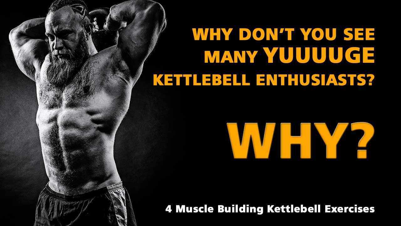 Kettlebell Bodybuilding 4 Muscle Building Kettlebell Exercises Kbs For Hypertrophy