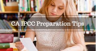 CA IPCC Preparation Tips For Nov 2016