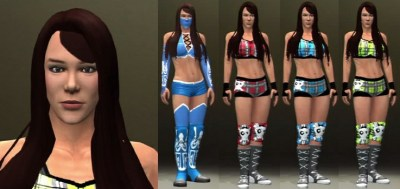 WWE AJ Lee CAW http://caws.ws/wwe12/view/caws/aj_lee-472