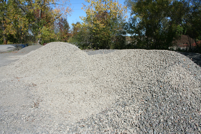 Rock Landscaping Underlayment : Stone cayuga compost and p s excavating llc