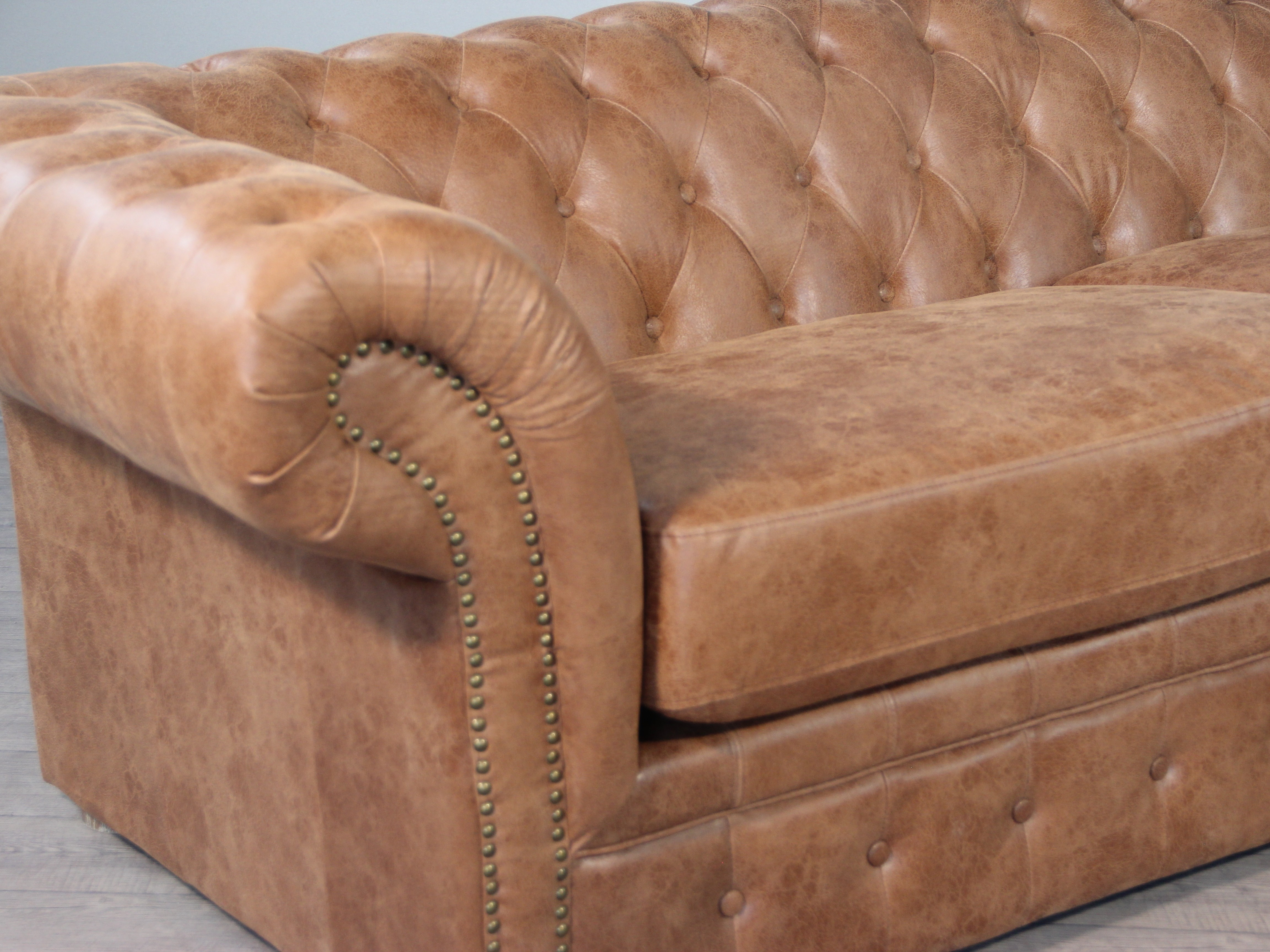 Canapé Cuir Marron Clair Canape Chesterfield Marron Clair