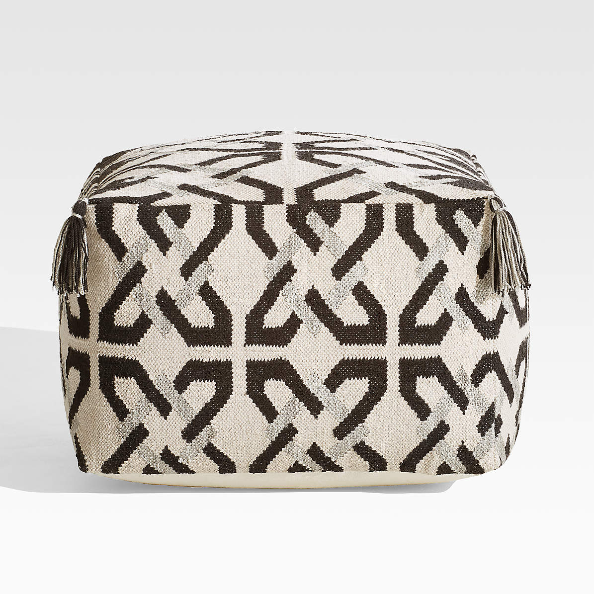 Mohave Indoor Outdoor Pouf Reviews Crate And Barrel Canada