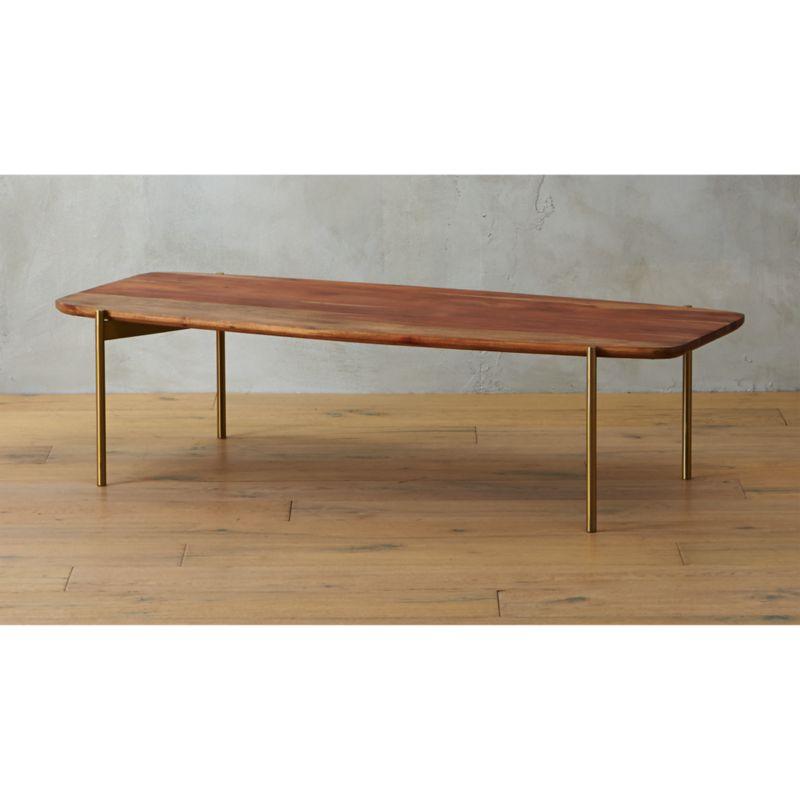 Adam Wood Coffee Table Reviews Cb2