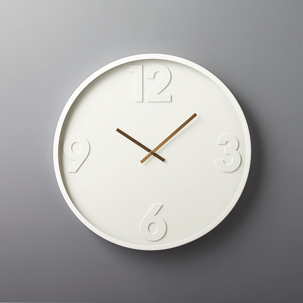 Wall Clock Design Carlo Marble And Brass Wall Clock