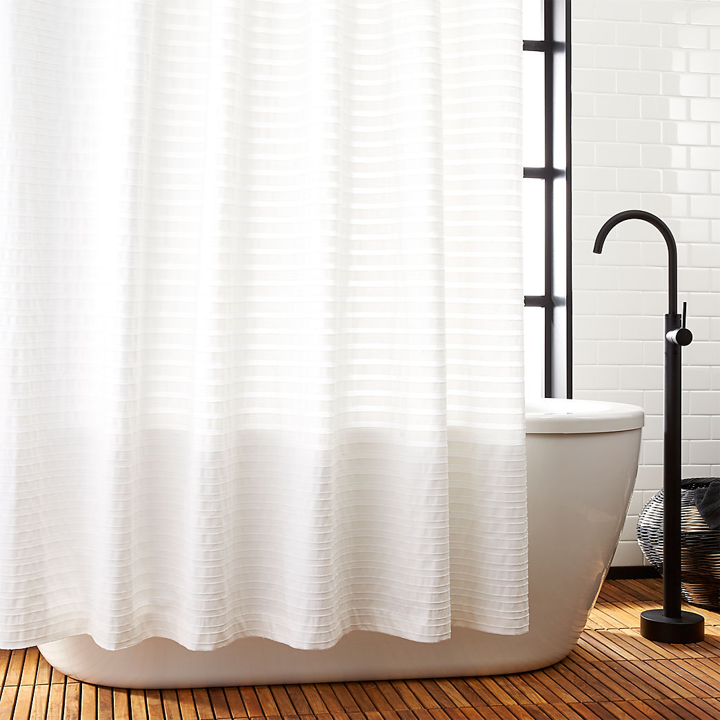 Unique Shower Curtain Rods Unique And Modern Shower Curtains Cb2
