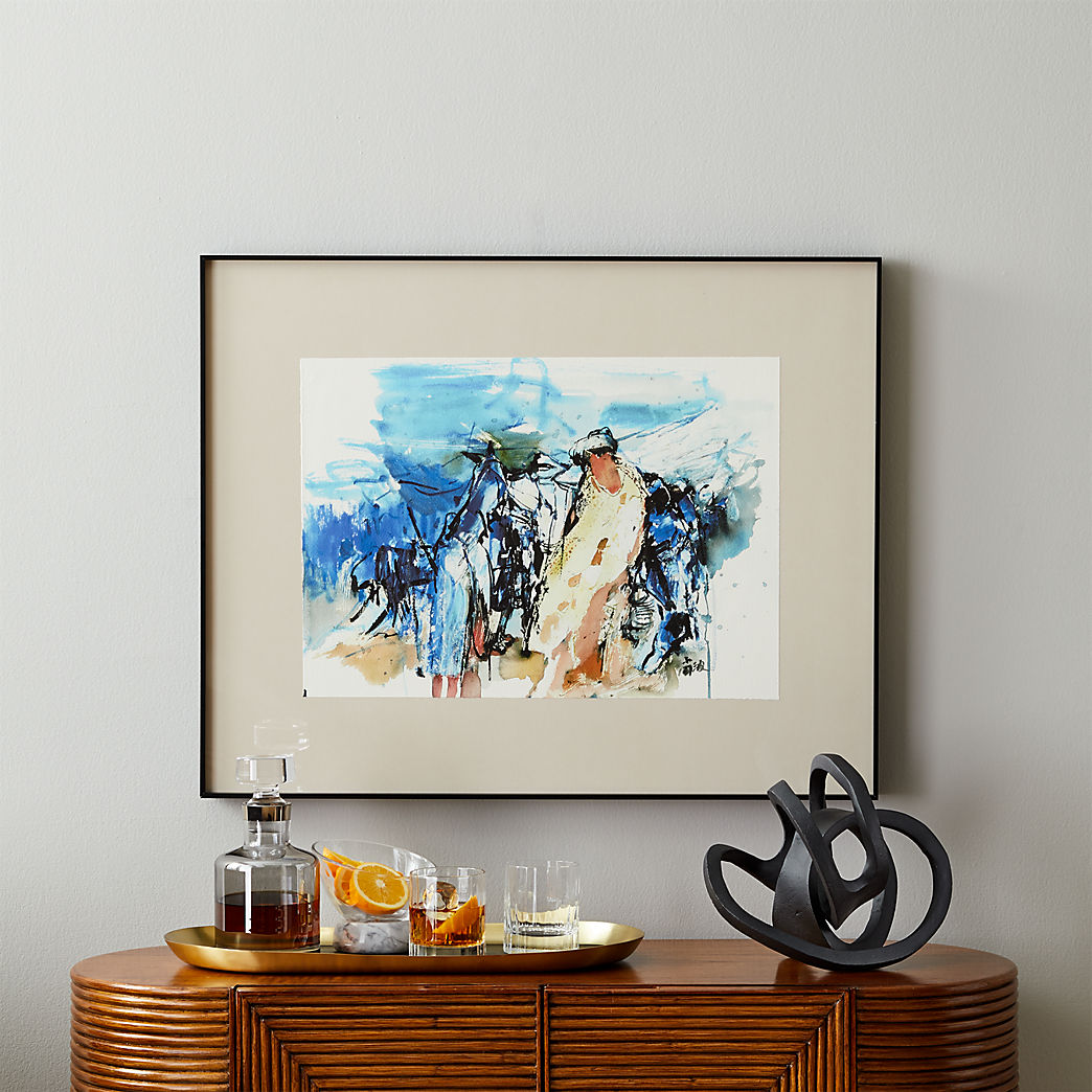 Art Wall Modern Art Wall Decor Cb2