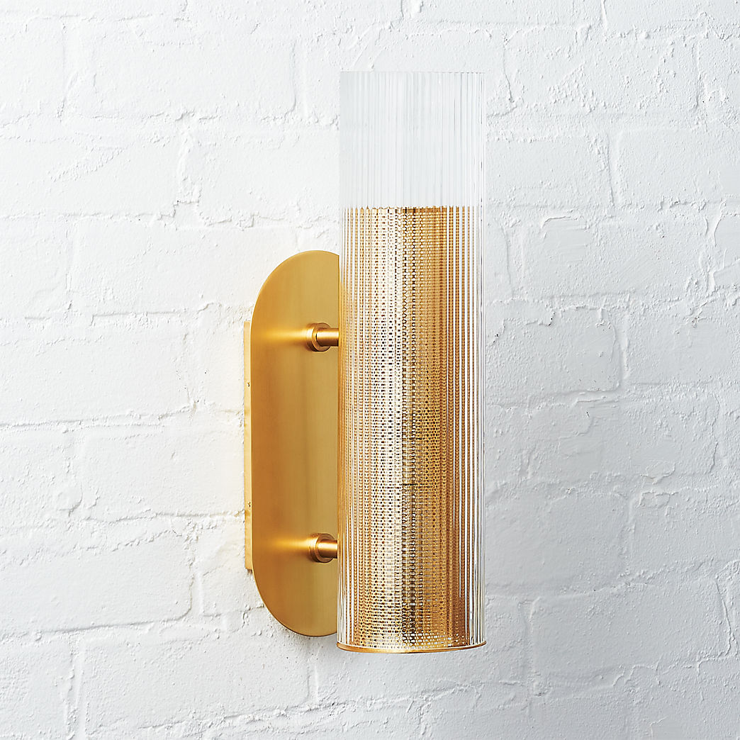 Office Wall Sconces Modern Wall Sconces Cb2