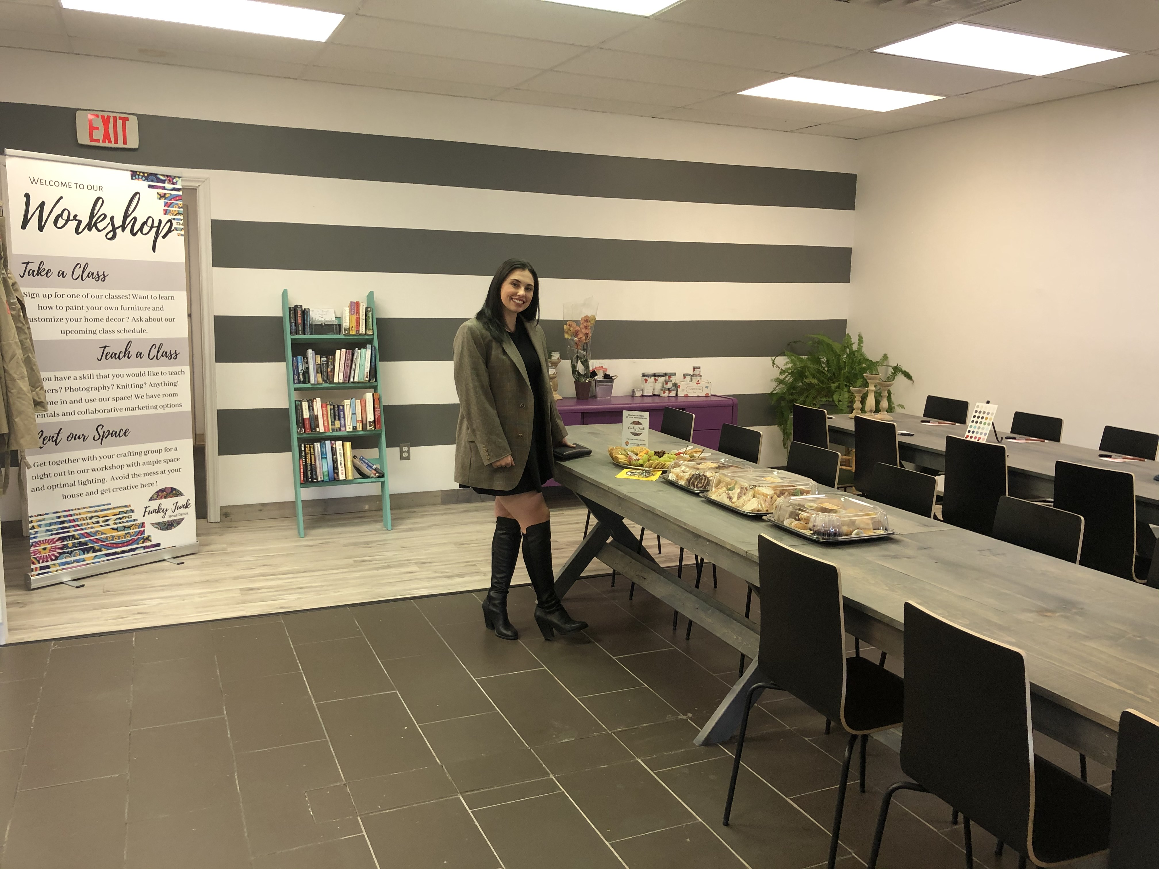 Event Recap Funky Junk Home Decor S Grand Opening Conception Bay Area Chamber Of Commerce