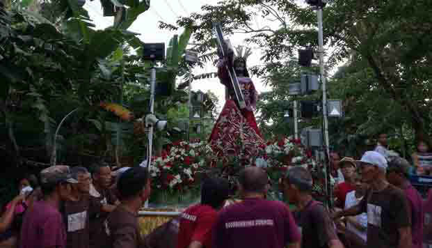 Visit of pilgrim image of Quiapo Black Nazarene in Calabanga parishes ends after six days