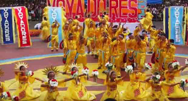 Voyadores Festival 2016 competition in Naga City