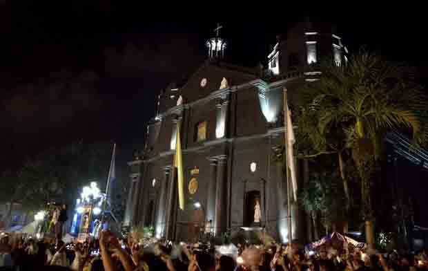 Blackout. No cell, no internet during Peñafrancia 2016 procession, fluvial?