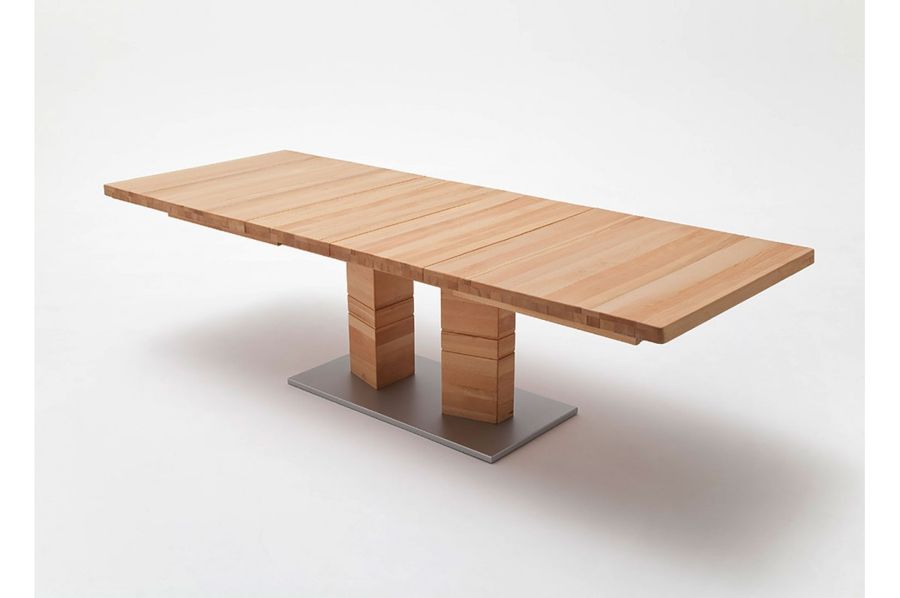 Table Bois Massif Extensible Table Bois Massif 140 X 90