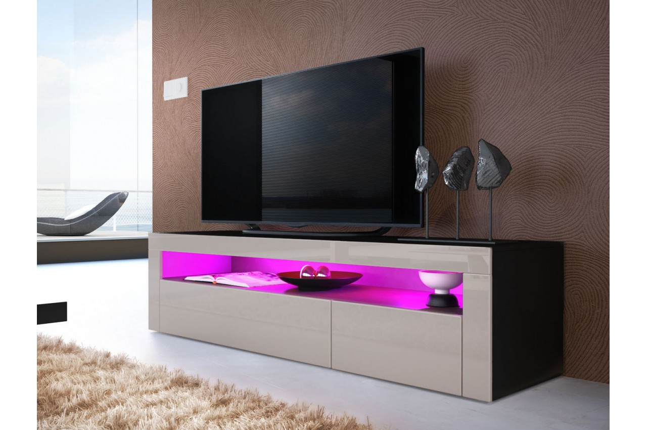 Meuble Bas Design Meuble Tv Bas Design Dylan Cbc Meubles