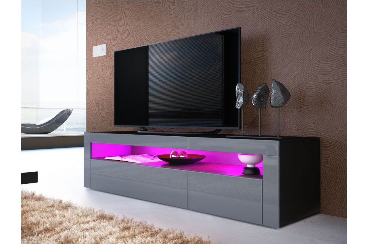 Meuble Bas Salon Design Meuble Tv Bas Design Dylan Cbc Meubles