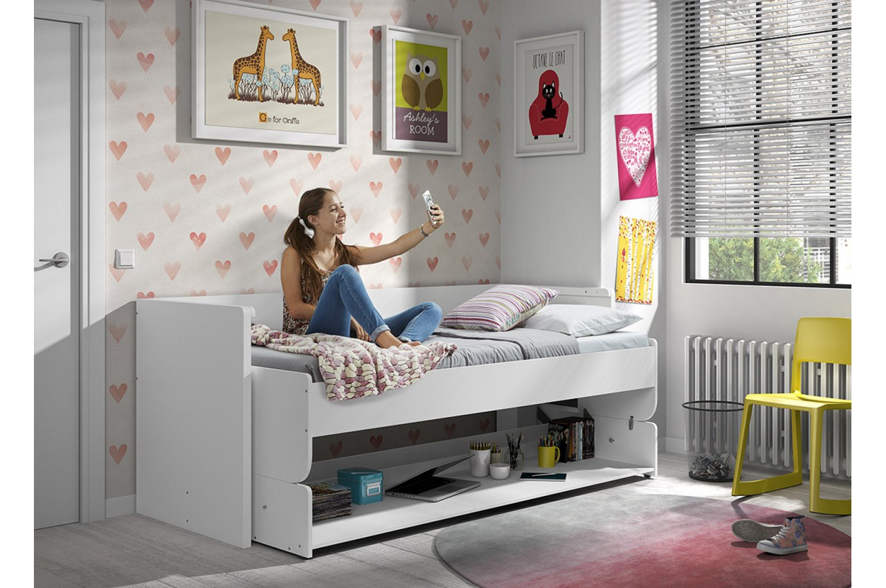 Bureau Enfant Gain De Place Lit Gain De Place Ado Optimus Cbc Meubles