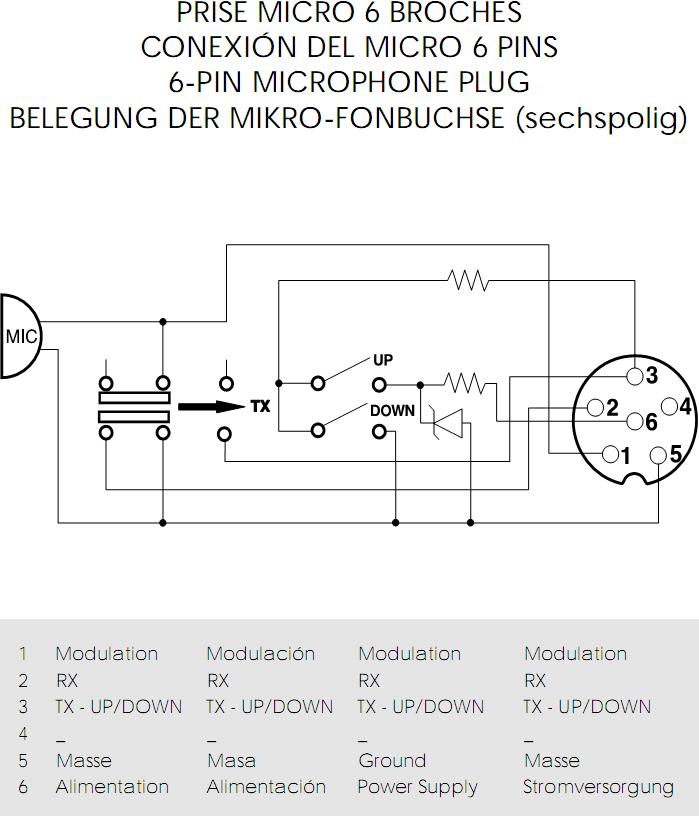 magnum cb radio microphone wiring diagram
