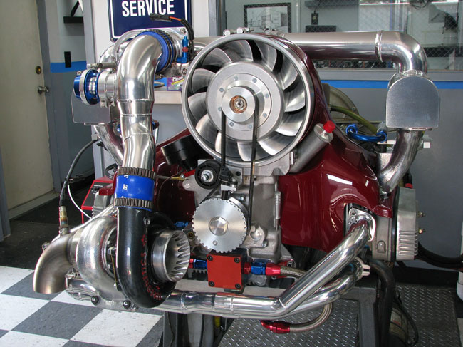 Turnkey Engines / Custom Aircooled VW Motors, built by Pat Downs of