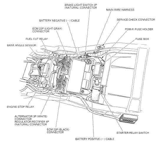 honda 929rr wiring diagram