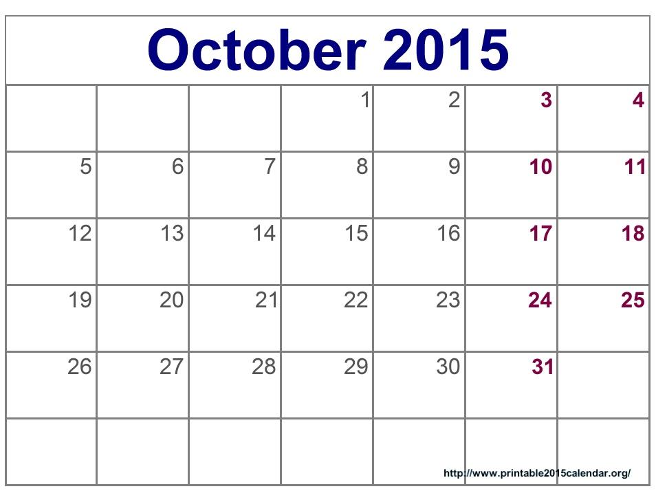 Printable October Calendar Kids 2017 Printable Calendar For Kids Imom Printable Calendar For October 187; Calendar Template 2017