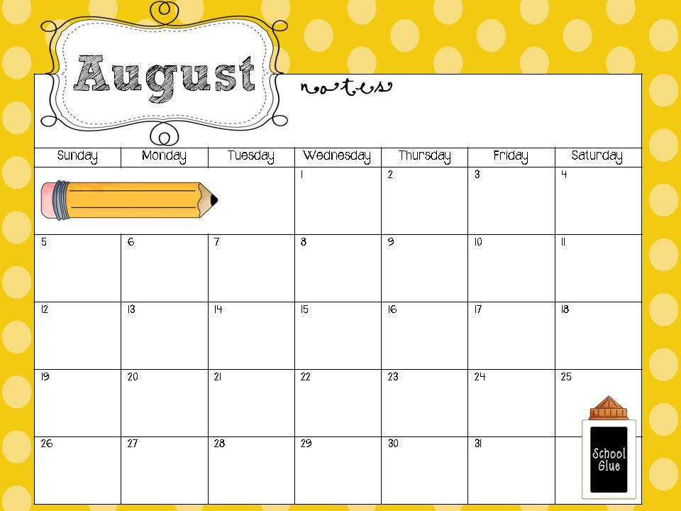 Teacher Calendar Templates - Resume Template Sample - sample school calendar