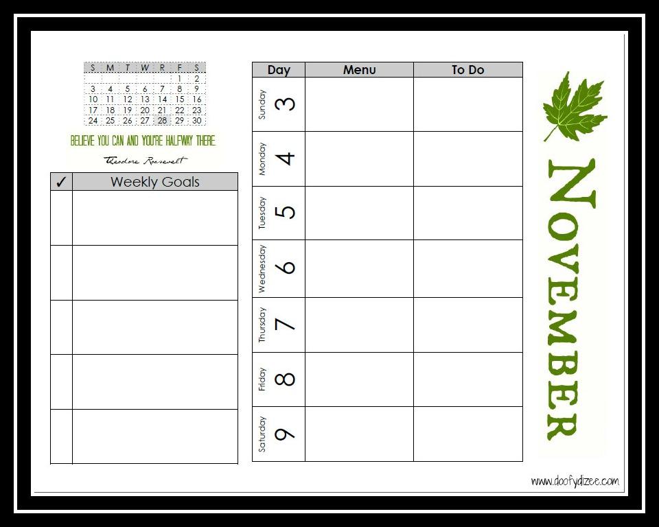 weight loss printable planner xv-gimnazija