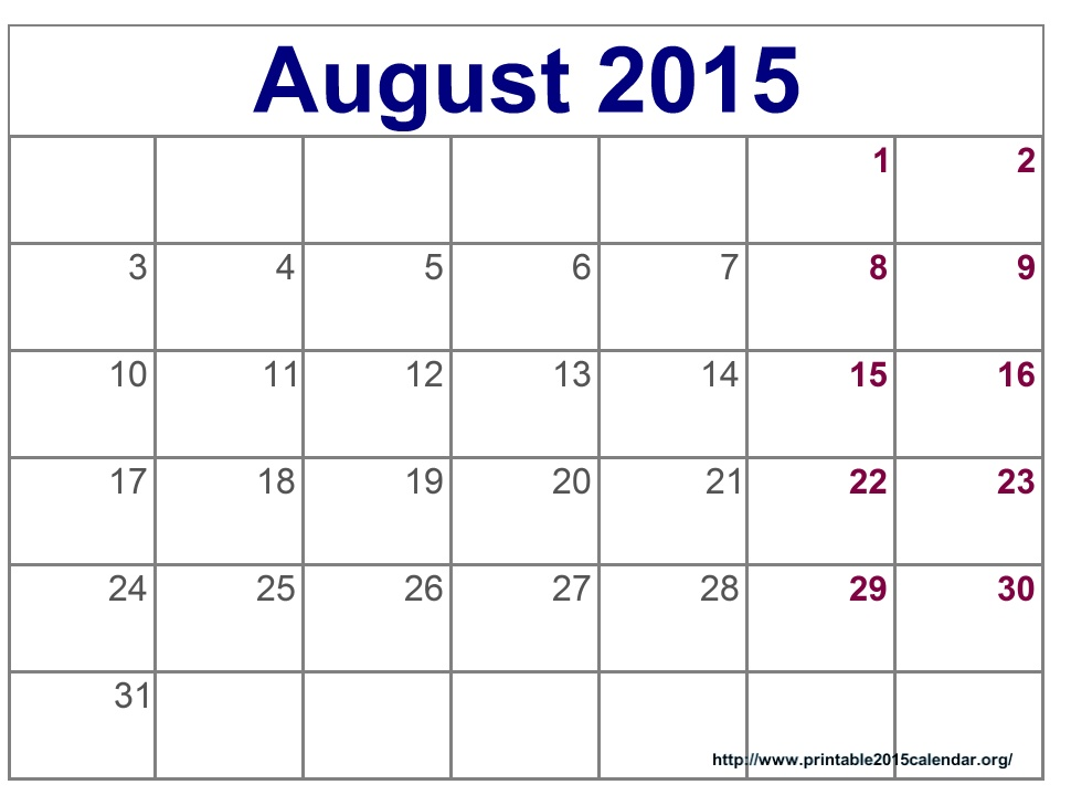 printable calendars june 2015 - Goalgoodwinmetals