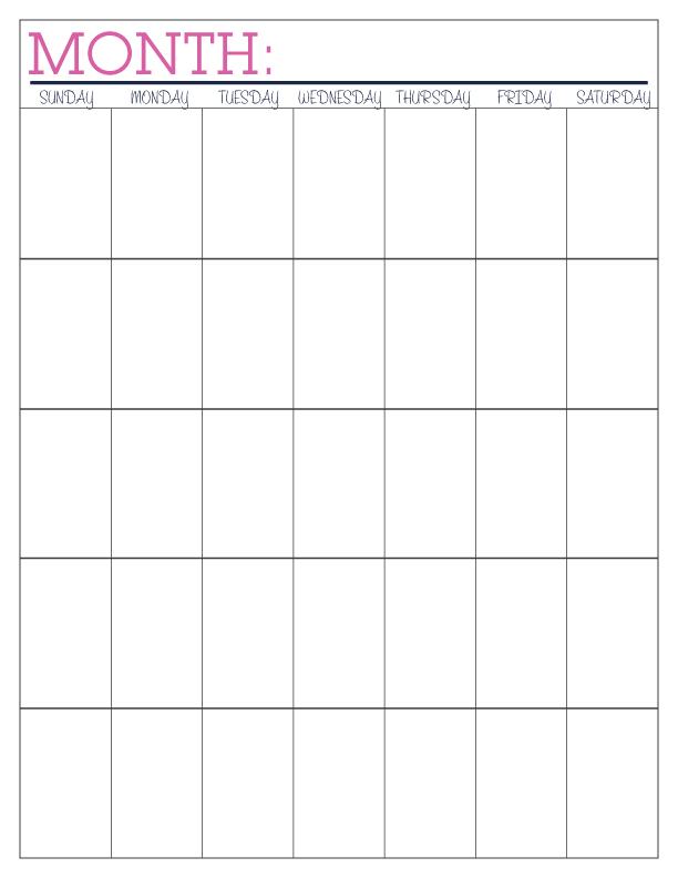 Free Printable Budget Calendar » Calendar Template 2018 - sample budget calendar