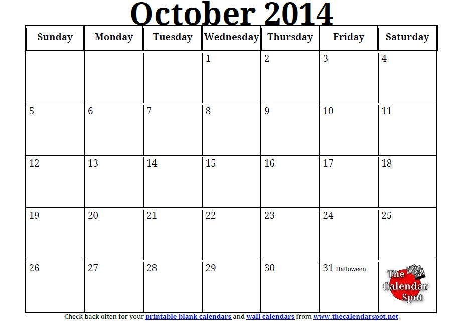 Printable October Calendar Kids October 2017 Printable Calendar Templates Printable Calendar For October 187; Calendar Template 2017
