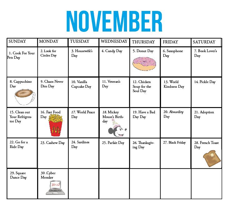 Calendar Of Odd Holidays 2012 August Holidays Daily Calendar November 2017 Halloween Calendar Of National Holidays 187; Calendar Template 2017