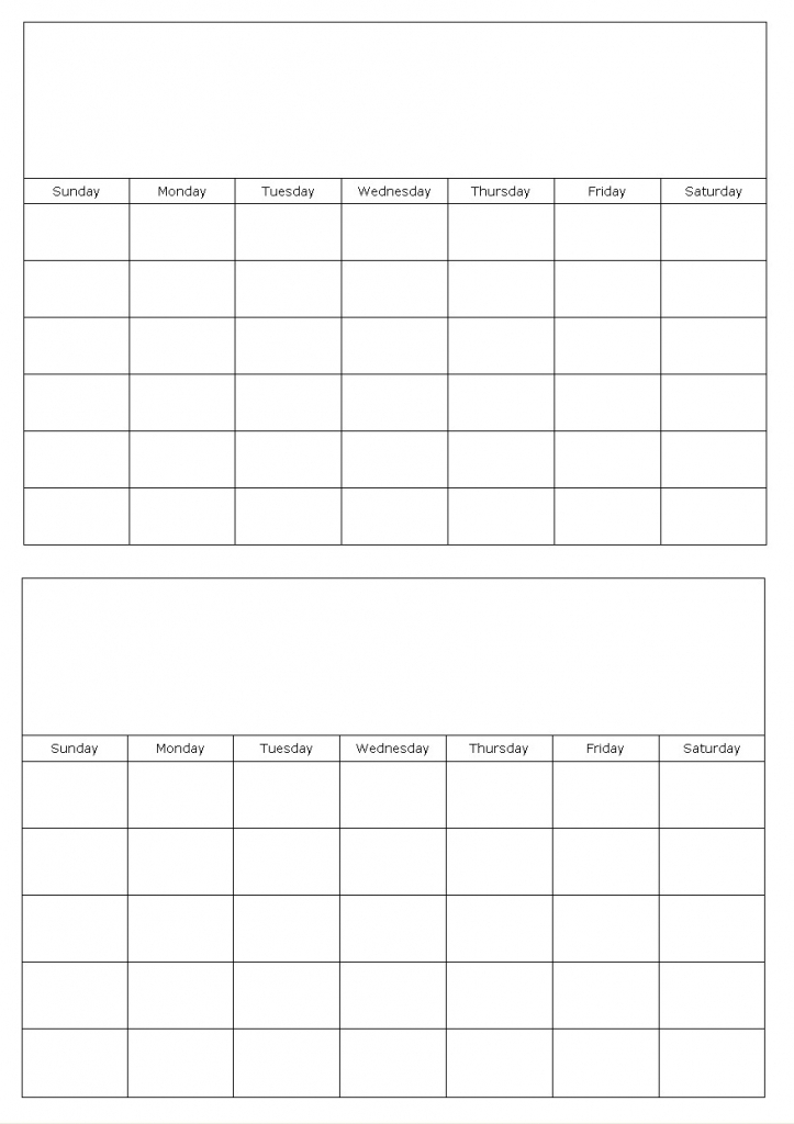 2 month calendar template - Boatjeremyeaton